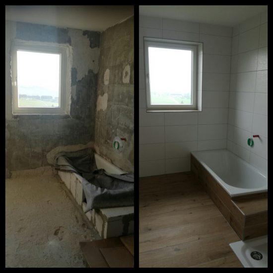 Kunde aus Sarleinsbach  / Badezimmer
